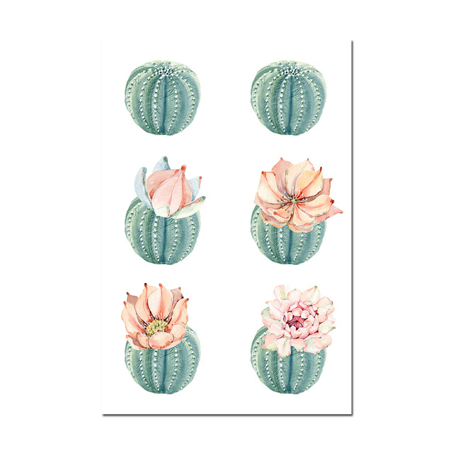 Cactus-Decor-Wall-Art-Canvas-Painting-Watercolor-Plant-Flower-Canvas-Posters-and-Prints-Wall-Pictures-for.jpg_640x640 (4)