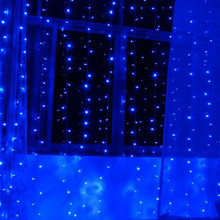 3Mx3M 300 LED Curtain String Light Outdoor Party Fairy Lamp Wedding Hotel Party GAREDN Windows XMAS Christmas Bar Event Supplies(China)