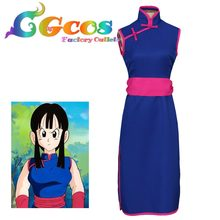 CGCOS Free Shipping Cosplay Costume Dragon Ball Z Chi Chi New in Stock Retail / Wholesale Halloween Christmas Party Uniform