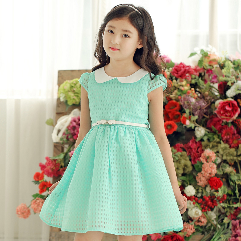 Big Girls Princess Dress Cotton Peter Pan Collar Party Dresses For Girls New Year Costumes Brand Teenage Christmas Dress 6-14Y<br><br>Aliexpress