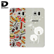 TPU Soft Case For Samsung Galaxy S6 G920 Transparent Printing Drawing Silicone Phone Cases Cover For Samsung Galaxy S6
