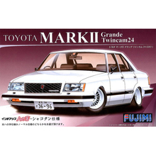 Fujimi 03696# ID-128 1/24 Scale Model Sport Car Kit Mark II Grande Twincam 24 (GX61) plastic model kit