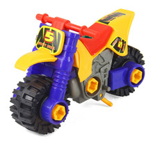 OCDAY Mini Dismounting Motorcycle Model Puzzle Toy Car Assembly Diecast Moto Toys for Kids Children Collection Xmas Gifts(China)