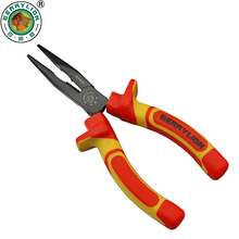 BERRYLION 6''/150mm Insulated Long Nose Pliers 1000V High Voltage Electrician Crimping Tool For Wire Cutters Hand Tools