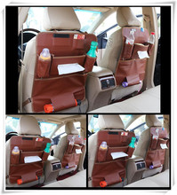 1PC Leather Car Back Seat Organizer An organizer in the car Auto Storage Bag For Great Wall Hover H3 H5 H6 H8 M4 M2 C30 C20R C50(China)