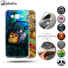AKABEILA Soft TPU IMD Phone Cases For Samsung Galaxy Grand Prime G5308 G5300 G360 G3606 G3608 J1 2016 J120 J1 J100 MINI ACE J110(China)