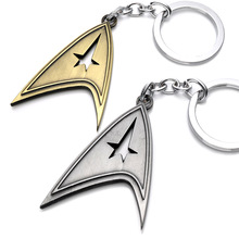Star Trek Enterprise NCC-1701 keychain 2016 New Star Trek Star wars spacecraft action figures toys gift party supply decoration(China)