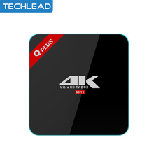 2pcs Qplus TV Box Android 7.1 amlogic S912 octa core 3GB 32GB smart MINI pc streaming Media player DLAN bluetooth Giga lan TV(China)