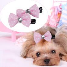 10pcs/lot Dog Cat Hairpins Lovely Pet Hair Clips DIY Dog Hair Bows Boutique Dog Grooming Accessories Pet Products