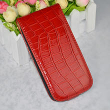 Luxury Crocodile Leather Case For Samsung Galaxy I9301 S3 Neo SIII Duos I9300i I9300 Phone Cover + Free film