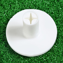High Quality 1PC White Durable Rubber Golf Tee Holder for Golf Driving Range Tee Practice Indoor Outdoor Sports Golf Accessories