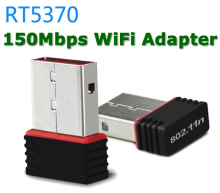 Ralink RT5370 150Mbps Mini WiFi USB Adapter Wireless WiFi Dongle Wi-Fi Network Card for SKYBOX / Laptop PC / DVB / STB NO CD