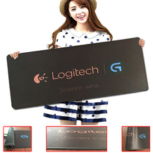 Babaite Cool logitech Logo mouse pad Computer Mouse pads Fashion Gaming Padmouse Gamer Laptop Keyboard Mat Speed Control mats