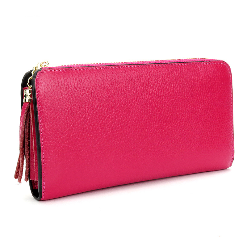 2017 women Wallet Genuine Leather Purse Fashion Casual Long Business  Clutch Wallets womens handbags womens clutch bag<br>