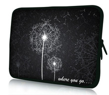 "Dandelion 12"" Laptop Soft Neoprene Sleeve Bag Case For Samsung Google 11.6"" Chromebook,11.6"" Acer Aspire One,Macbook Air(China)"