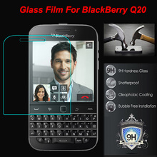 For Rim BlackBerry Classic Q20 Tempered Glass Screen Protector 2.5 9h Safety Protective Film on Blackbarry SQC100-3 SQC100-4 4G