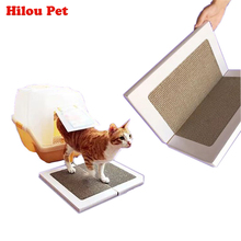 Cat Scratch Play Pad Corrugated Safe High Quality Card Board Scratcher Toy Foldable Cat Litter Corrugated Paper For Claws Care