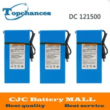 High Quality 3PCS DC 12V Strong 15000MAH Powerful Rechargeable Backup Li-ion Battery  For CCTV Camera Wireless Transmitter