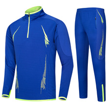 16/17 Football Jersey active Jacket Suit run but foot breathable football training long sleeve Boy 6-12 boy