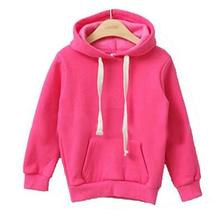 Hot 2017 Children Kids Girls Boys Hoodie Coats Autumn Winter Long Sleeve Jackets Children's Outwear Sweatshirts Kids Clothing