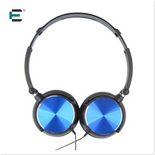 Foldable revolved wired Headband Headphone 3D Stereo Surrounded MP3 music player headset Earphone 3.5mm Plug for PC Smartphone