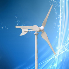 Factory Price 100W 12VDC Permanent Magnet Wind Generator Max 125W Wind Turbine, 3PCS Blades,3 Years Warranty!(China)