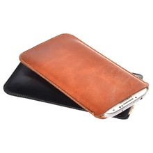 "For Vernee Thor E 4G LTE 5.0"" Best Quality Microfiber Leather Sleeve Pouch Phone Bag Case Cover For Vernee Thor E"
