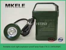 IW5100GF Portable work light explosion-proof lamp Exde CT6 II ,search light prices,led search light