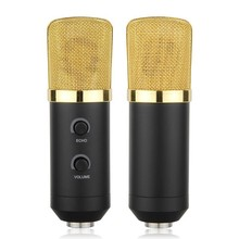Professional USB Cardioid Condenser Microphone Audio Studio Vocal Recording Mic Broadcasting Microphone with Mount Stand