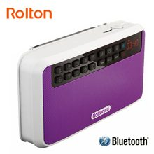 Rolton E500 Stereo Bluetooth Speaker Portable Wireless Subwoofer Music Sound Box Handsfree Loudspeakers FM Radio And Flashlight(China)