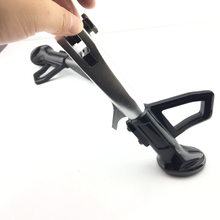 Adjustable  Motorcycle Stand Foot  18cm to 20.5cm longer Kickstand Kick Side Stand For Kawasaki  Scooter Stand Bracket
