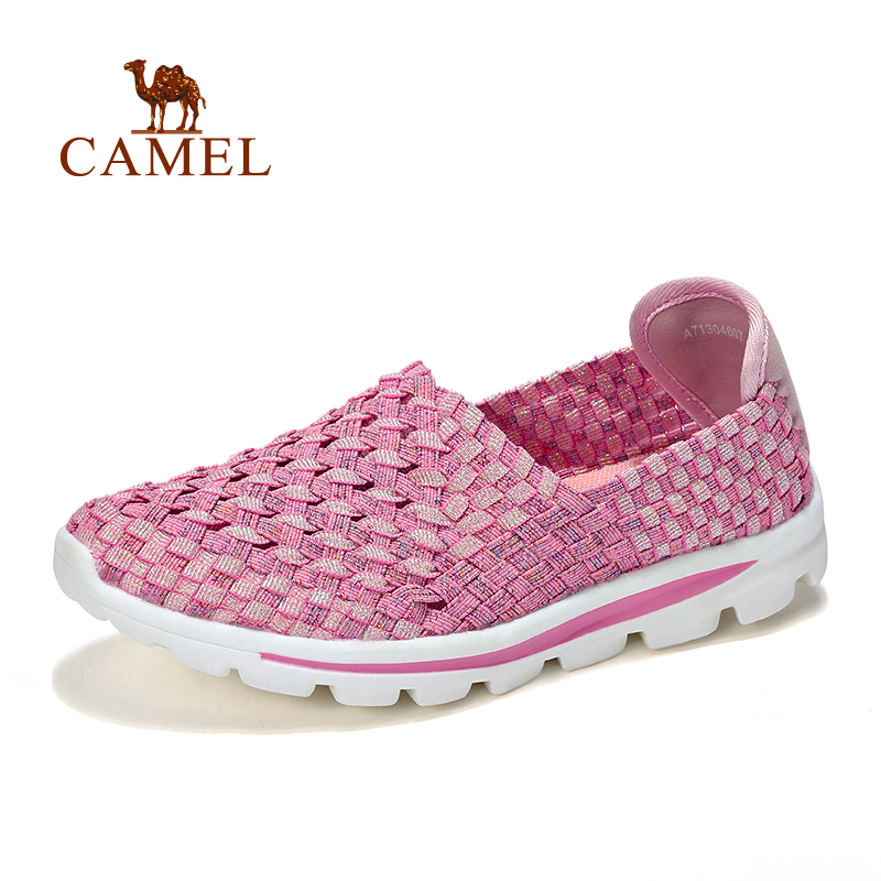 Camel Females Casual Shoes Outdoor Shoes Models Light Breathable Comfortable Low to Help Set Foot A71304607<br><br>Aliexpress