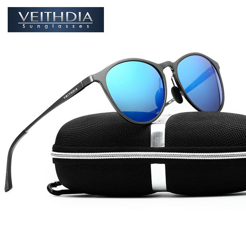 VEITHDIA 2017 New Arrival Unisex Retro Aluminum Magnesium Brand Sunglasses Men/Women Male Sun Glasses gafas oculos de sol 6625<br><br>Aliexpress