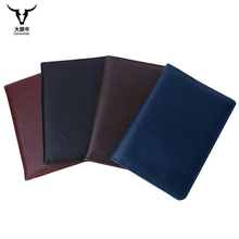 Men Passport Covers Solid Credit Id Card Folders Handmade Women Passports Holder Case Travel Passport Wallets (custom available)(China)