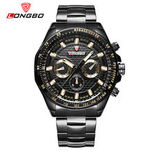 LONGBO Fashion Military Men Sport Watches Casual Stainless Steel Band Watch Dynamic Classic Male Wristwatch Reloj Hombre 80298(China)