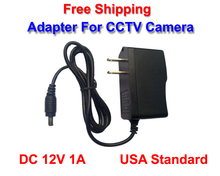 NEW US DC 12V 1A Power Adapter Charger Power Supply 1000mA For CCTV Cameras(China)