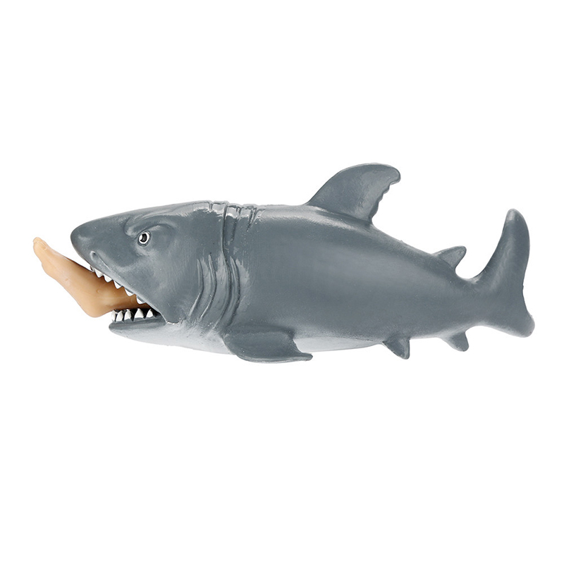 Crazy Shark Pops Out Surfer Leg Stress Relief Funny Toy 6
