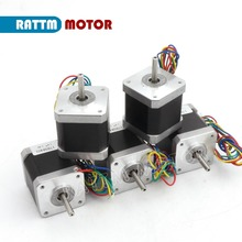 EU / US Delivery! 5PCs Nema17 48mm CNC stepper motor 78Oz-in/1.8A stepping motor Router Milling Machine Engraver 3D Print RATTM