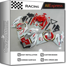 New Custom Design For Suzuki Fairing Kit 08 09 10 K8 GSX-R600 GSX-R750 2008 09 2010 Motorcycle Bodywork Lucky Strike