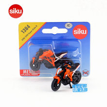 SIKU Educational/Diecast Metal Model toy Motorcycle/Simulation:KTM 1290 Super Duke R/for children's gift or collection/Small(China)