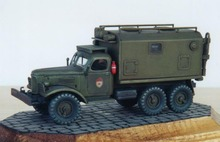 Military Model 72551 1/72 Former Soviet Union Gil 157 Command Car Model Panel