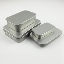 12pcs/ lot  Metal Tin Craft Box Survival Kit Container Storage iron box Pill travel type free shipping