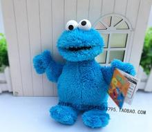 Cookie Monster 25cm Plush Doll NWT Sesame Street(China)