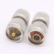 1PCS RF coaxial coax N to UHF PL259 connector N male to PL259 UHF male Plug adapter free shipping