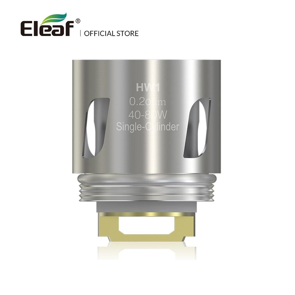 5pcs/lot Original Eleaf HW1 Single-Cylinder 0.2ohm Head 40-80W Electronic Cigarette Vape HW Coil