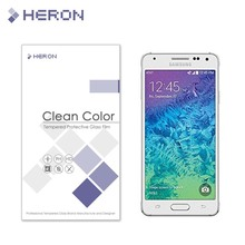 0.3mm Tempered Glass for Samsung Galaxy Alpha G850F G8508S G8509V 9H 2.5d Arc edge Anti Finger Print Film with Retail Package