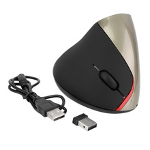 1pcs Wireless Ergonomic Vertical Optical USB Mouse 5D Optical Mouse For PC Laptop hot new(China)
