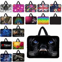 Wonderful Many Design Viviration 17 15 14 13 12 10 Inch Laptop Notebook Tablet PC Sleeve Bag Handle Carry Cover Cases Bags Pouch