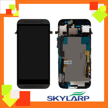 Original Test For HTC One M8 LCD Display Screen (With Touchscreen, With Black, White, Golden Frame) Dual sim /Single sim version