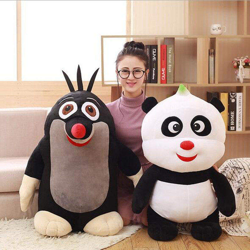 35cm plush Animals And The Czech Mole And Stuffed Panda Toy Doll Pillow Wholesale Creative Kids Childrens Day Dift<br><br>Aliexpress